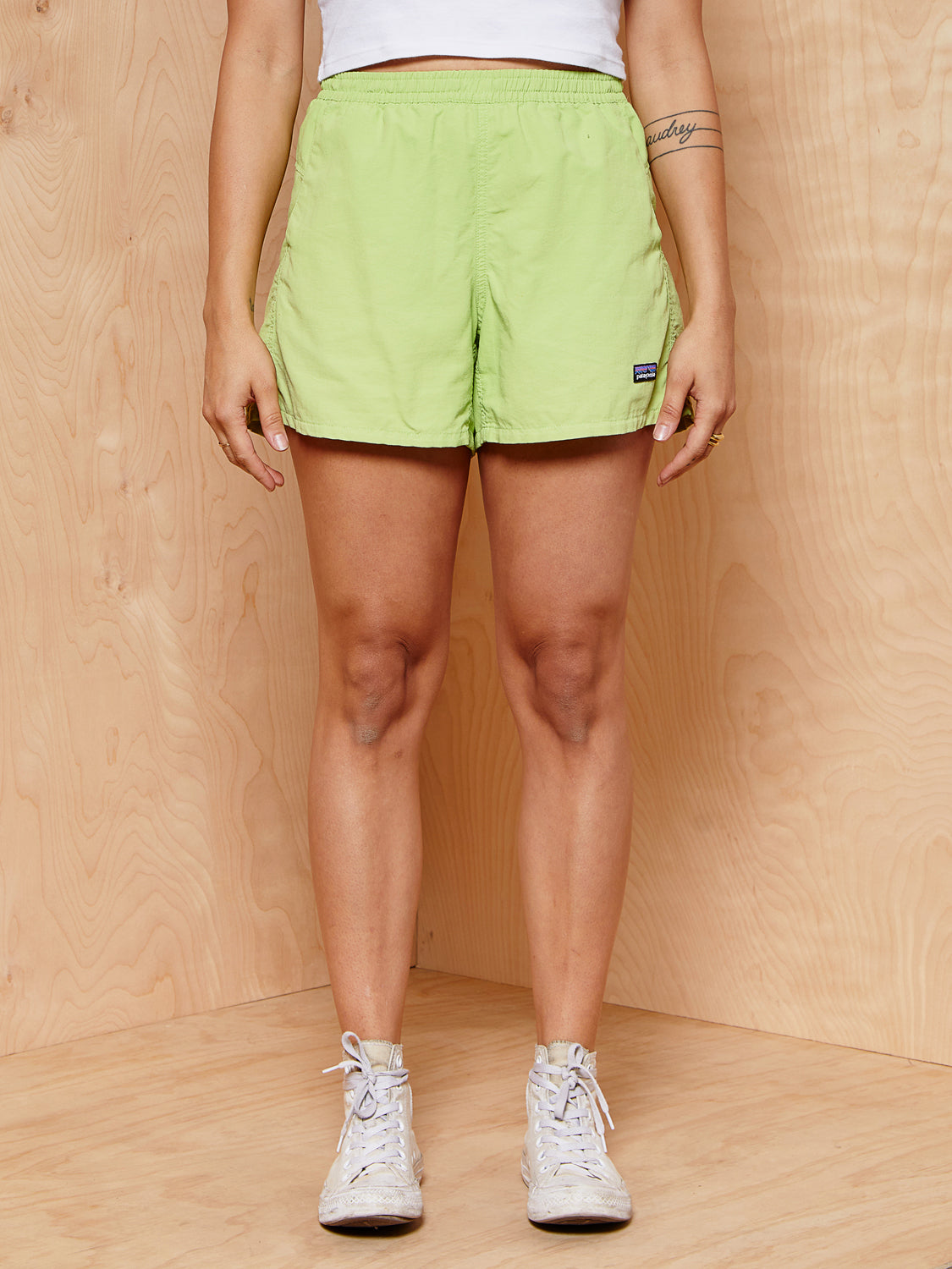 Patagonia Lime Baggies Shorts