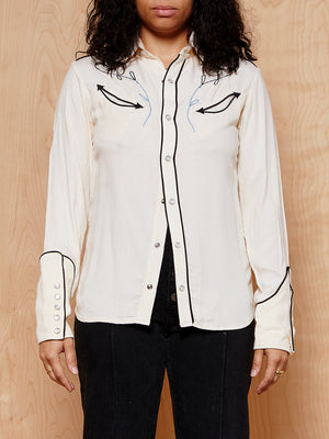 Bliss and Mischief Western Button Up Shirt