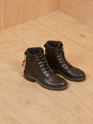 Frye Combat Style Ankle Boot