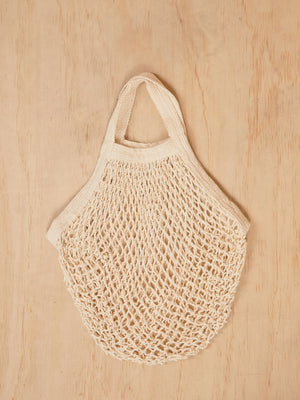 Vintage Beige Net Bag