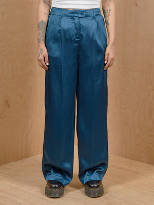 Vero Moda Teal Wide Leg Pants
