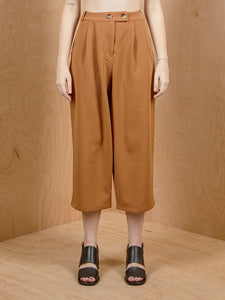 Naked Zebra Brown High Waisted Culottes