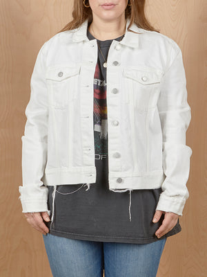 Weekday White Denim Jacket