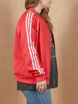 Adidas Red Track Jacket