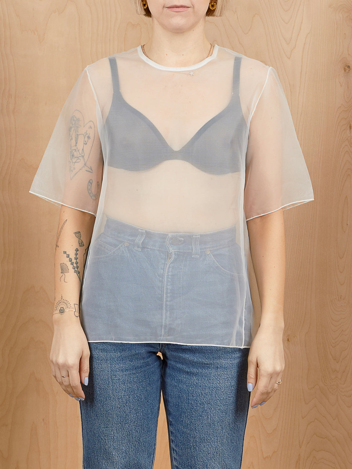 Oak + Fort Sheer Top