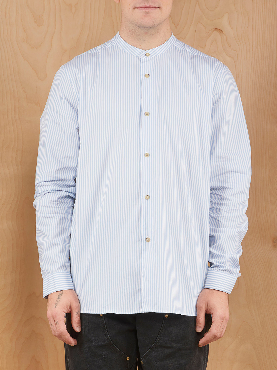 Acne Studios Striped Button Up