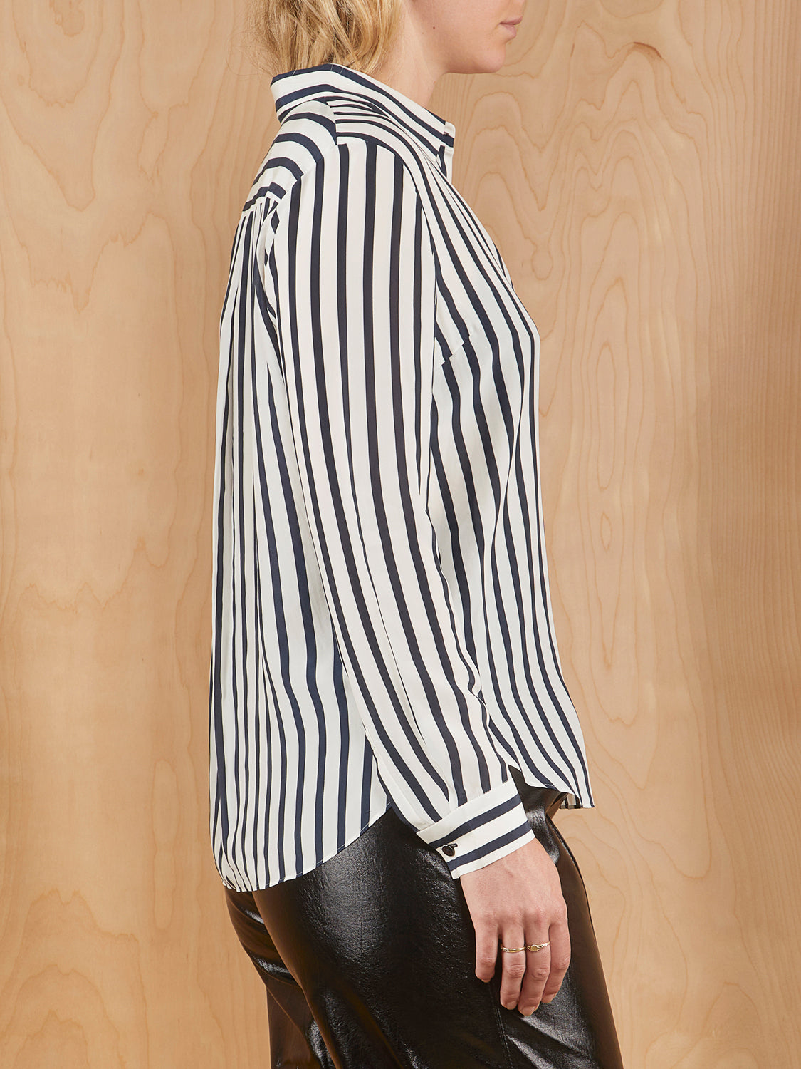 Tomorrowland Striped Button Up