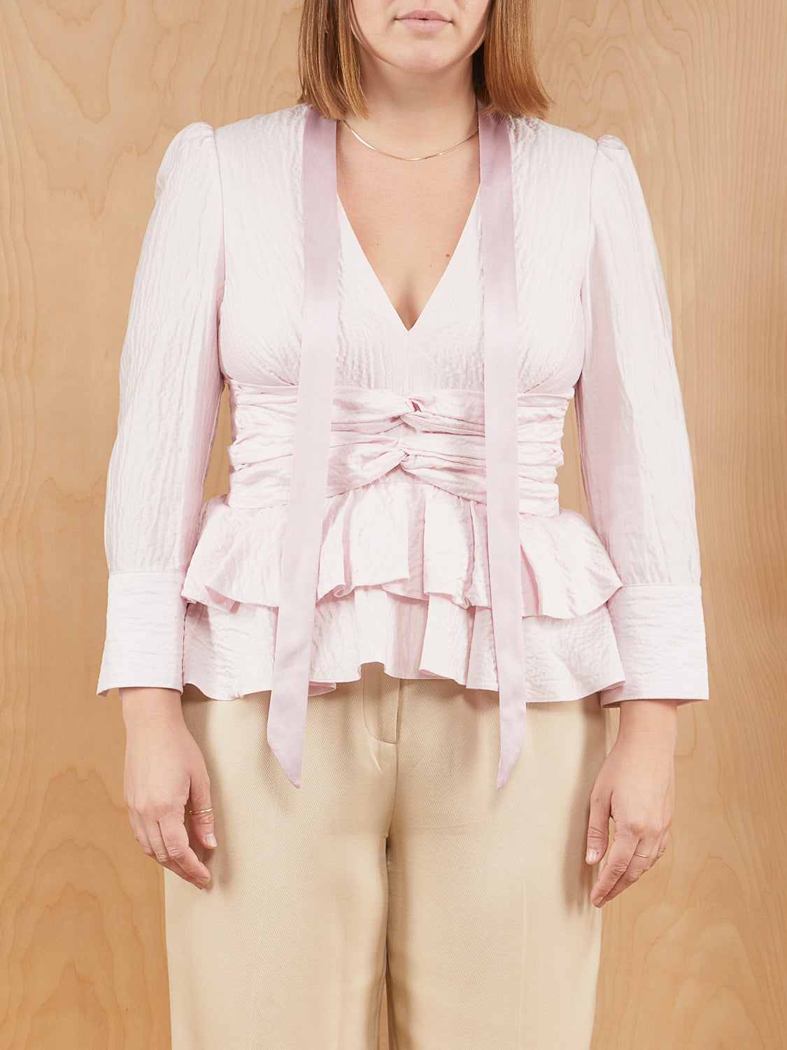 Hellessy Blush Blouse