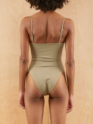 Wanderlust Olive One Piece