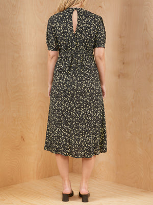 New Look Floral Dress with Front Slit