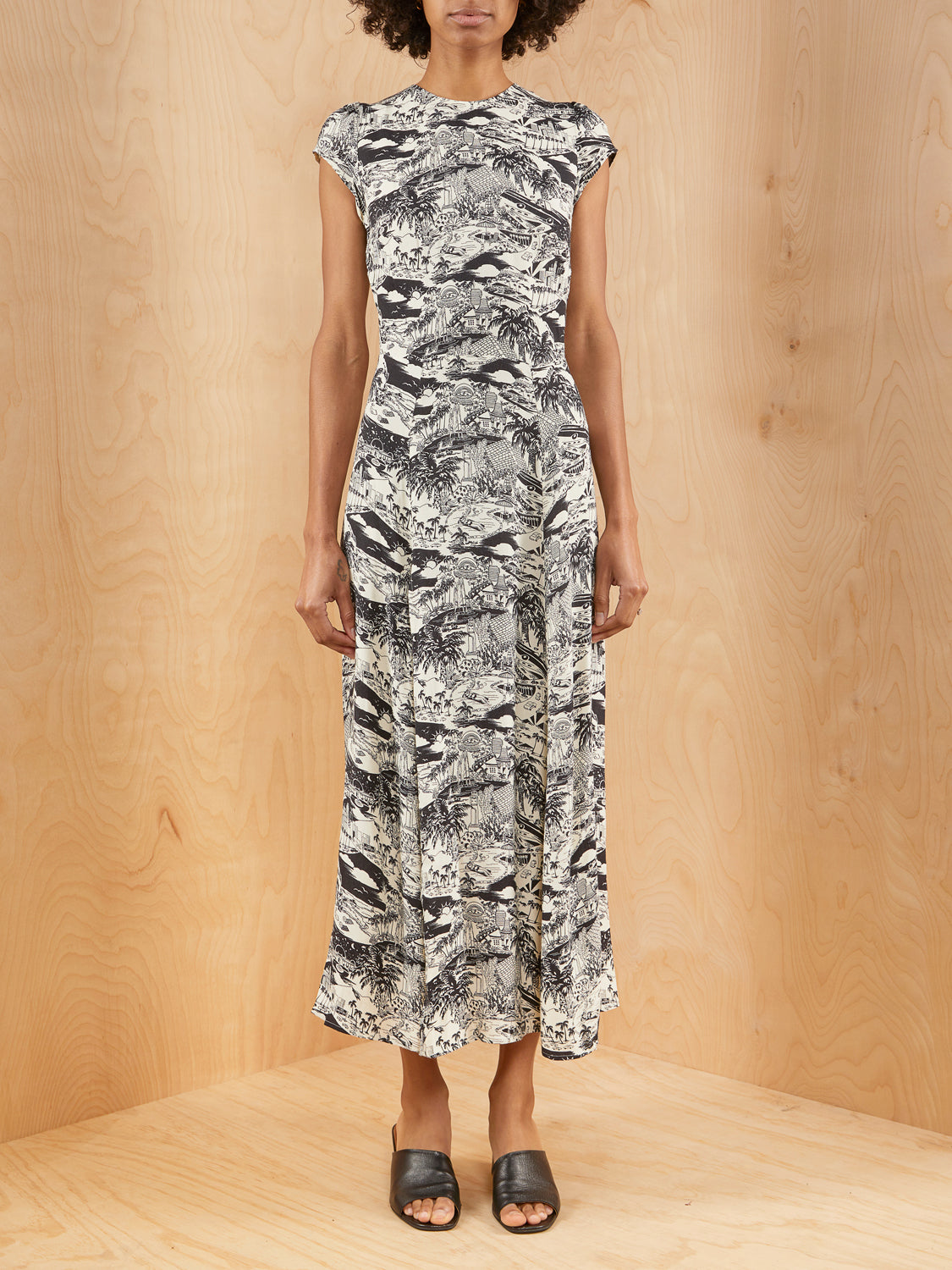 Reformation Naked Lunch Gavin Dress