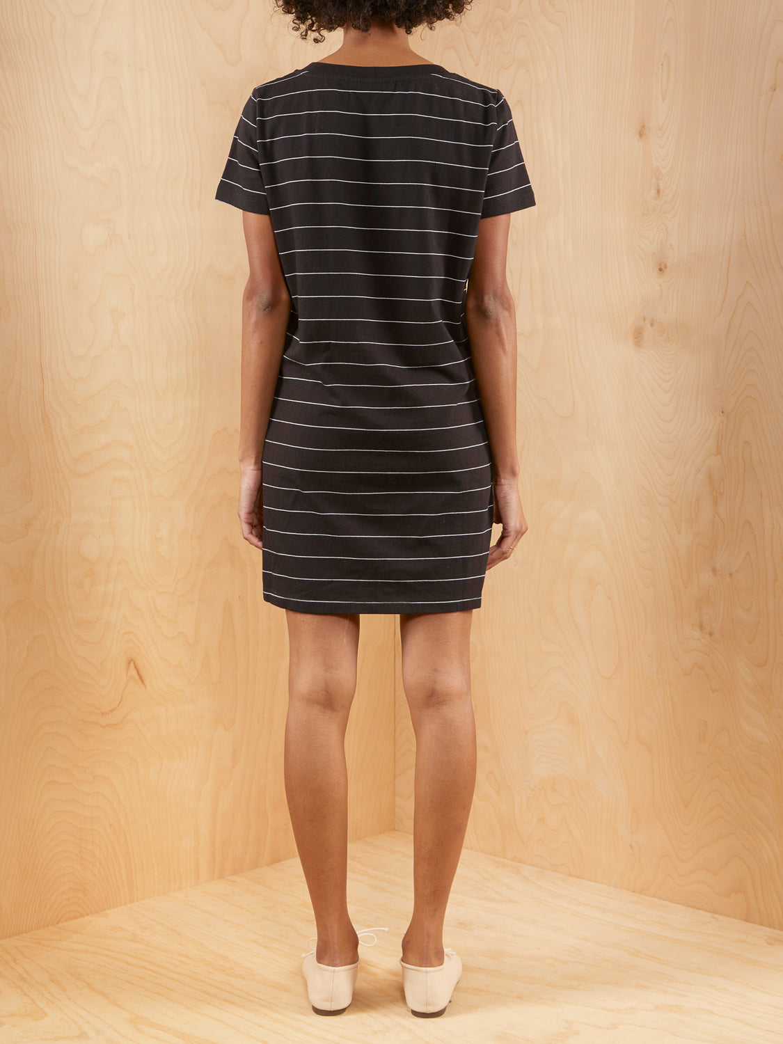 The Range Striped T-Shirt Dress