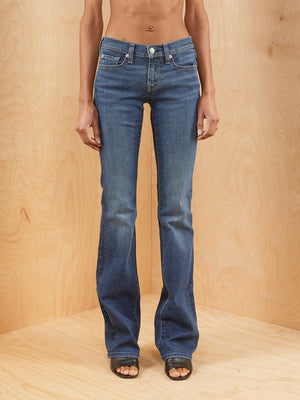 7 For All Mankind Bootcut Jeans Darkwash