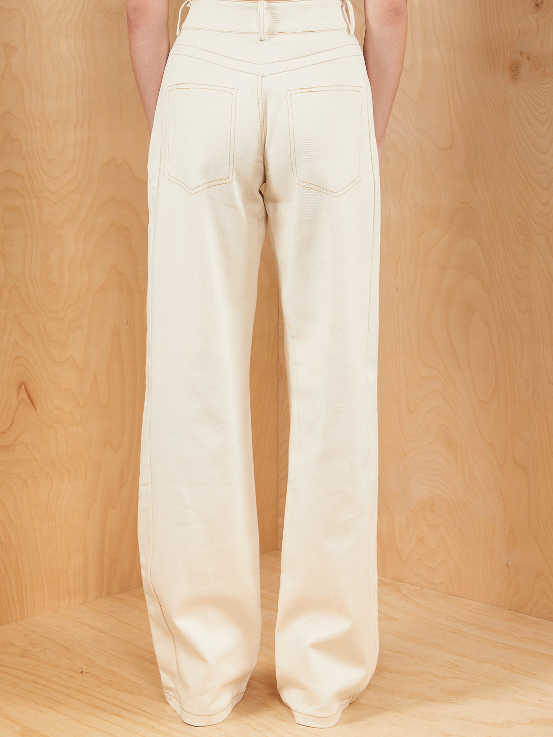 I.AM.GIA High Waisted Pant in Natural