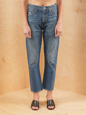 Citizens of Humanity Straight Crop Denim