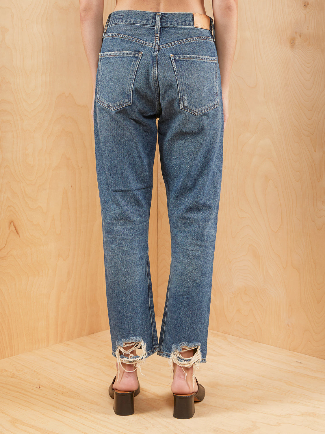Citizens of Humanity High Waisted Ankle Jean