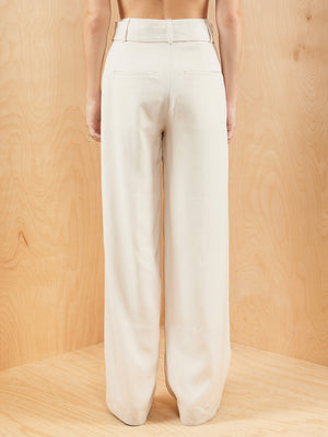 Vince Wide Leg Trouser with Belt