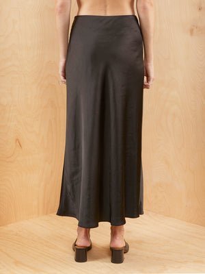 C/MEO Collective Beaded Satin Skirt