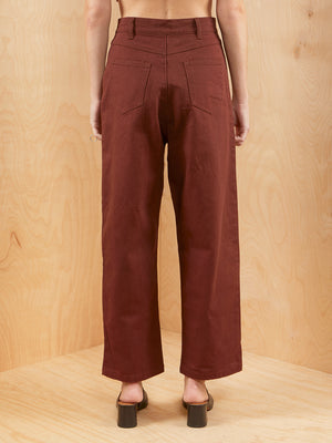 C/MEO Rust High Waisted Jean
