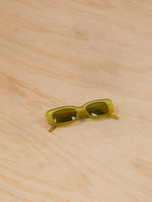 Green Square Sunglasses