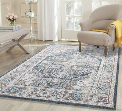 Luxury Silk Blue Traditions Rug - Buyrug - Online Rug Buy Store