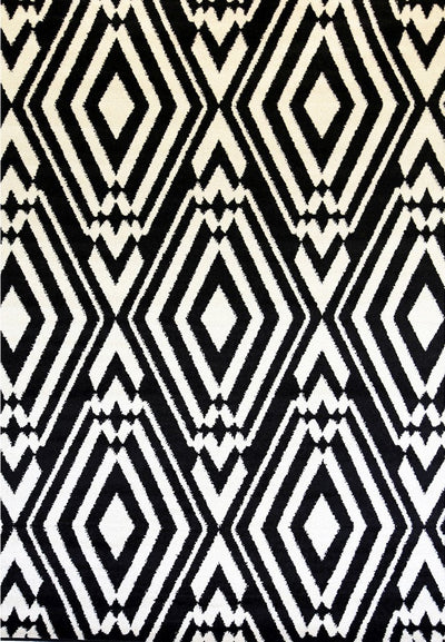 Bold Day And Night Geometric Ikat Rug - Buyrug - Online Rug Buy Store