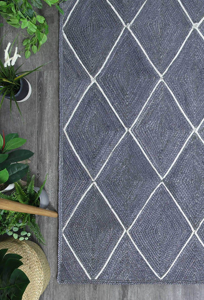 Artisan Grey Natural Diamond Rug - Buyrug - Online Rug Buy Store