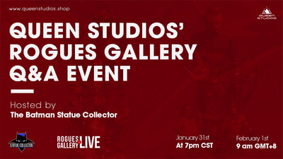 Queen Studios Rogues Gallery Collector Q&A Event