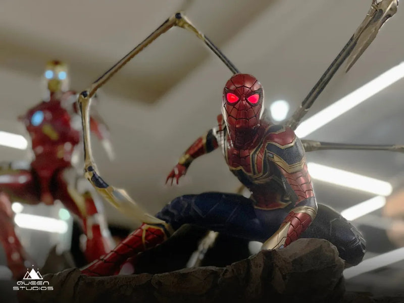 Story Behind the Statue, Iron Spider 1/4 Statue Instant Kill