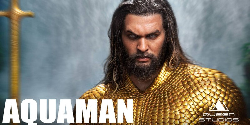 Final 1:2 Aquaman Statue By Queen Studios Collectibles