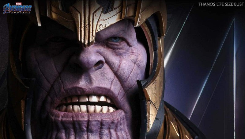Queen Studios 1:1 Thanos Bust Materials
