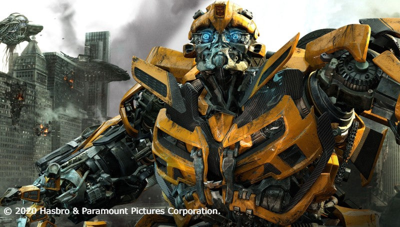 Bumblebee Transformers Movie Poster Inspiration