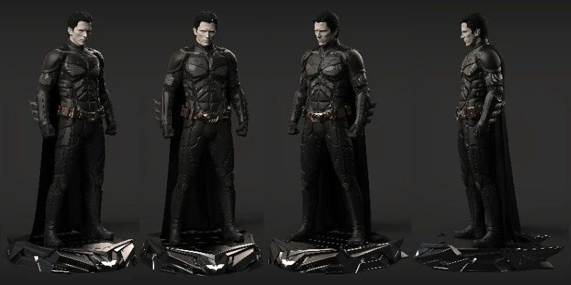 Christian Bale Dark Knight Batman Statue