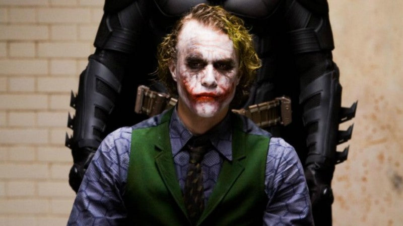 Heath Ledger Joker Inspiration for the 1:3 Statue