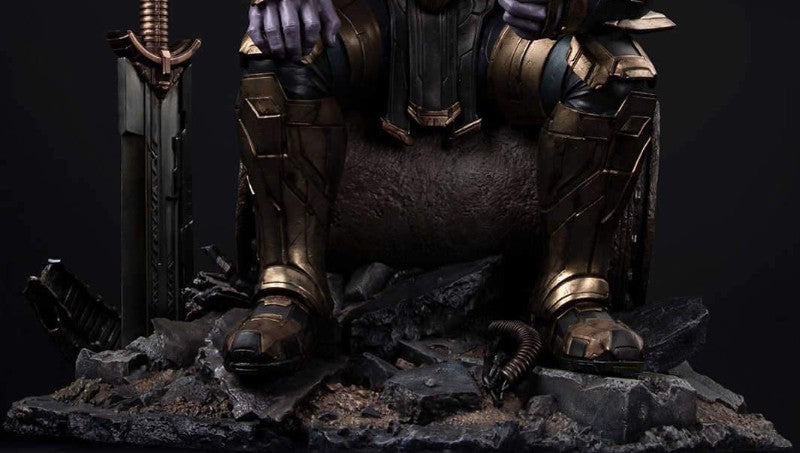 Inspiration behind teh 1/4 Scale Thanos Statue base