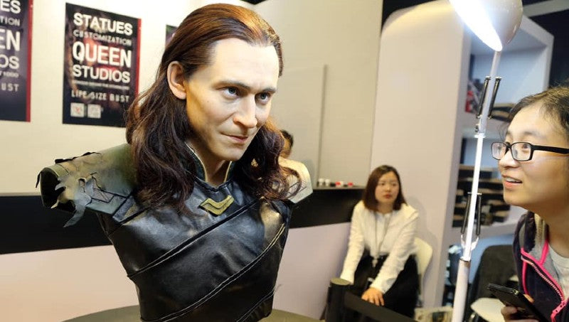 Loki at Shanghai Comic Con 2018 Queen Studios