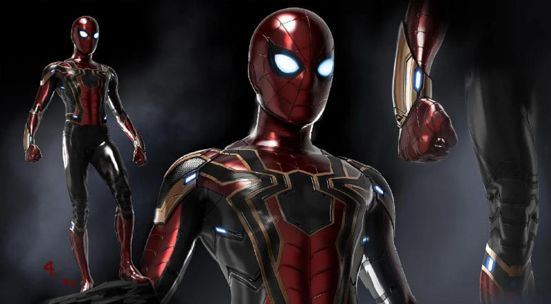 Story Behind the Statue, Iron Spider 1/4 Statue
