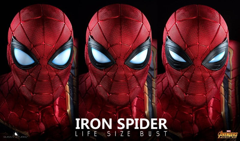 Queen Studios Iron Spider Bust