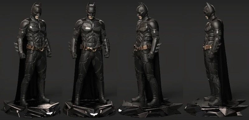 The Dark Knight 1/3 Batman 3D Sculpt