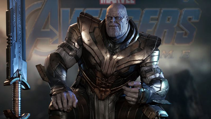 Inspiration behind the 1/4 Thanos Statue Queen Studios