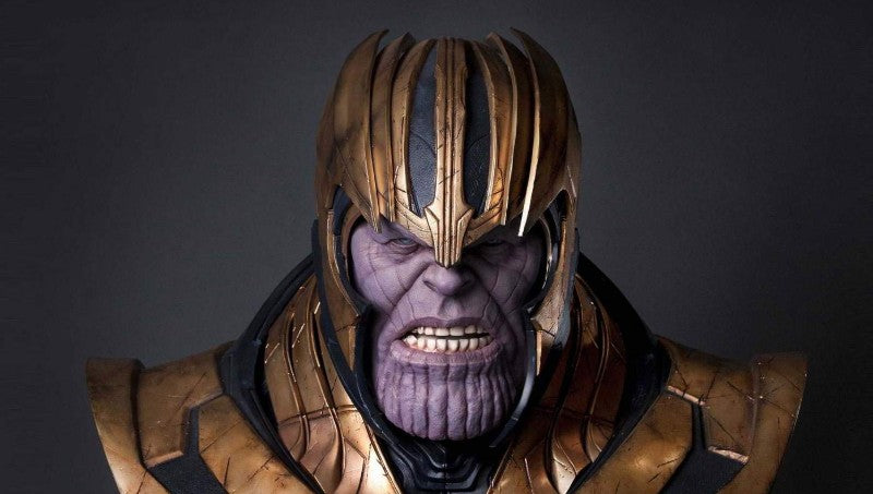 Queen Studios Thanos Bust