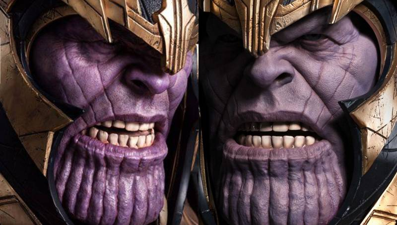 Queen Studios Thanos Bust Changes to the Colour