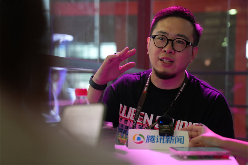 Queen Studios interview with Liu Zhuo, Cofounder, Art and R&D Director