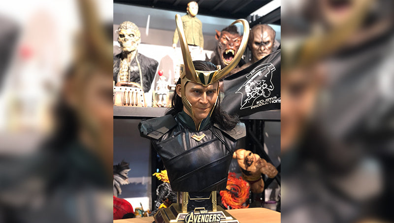 Queen Studios Loki Bust - Sunny From Taiwan