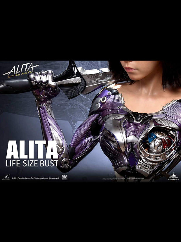 Alita Battle Angel Bust by Queen Studios Special Edition
