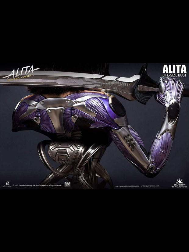 Alita Battle Angel with Damascus Sword Special Edition