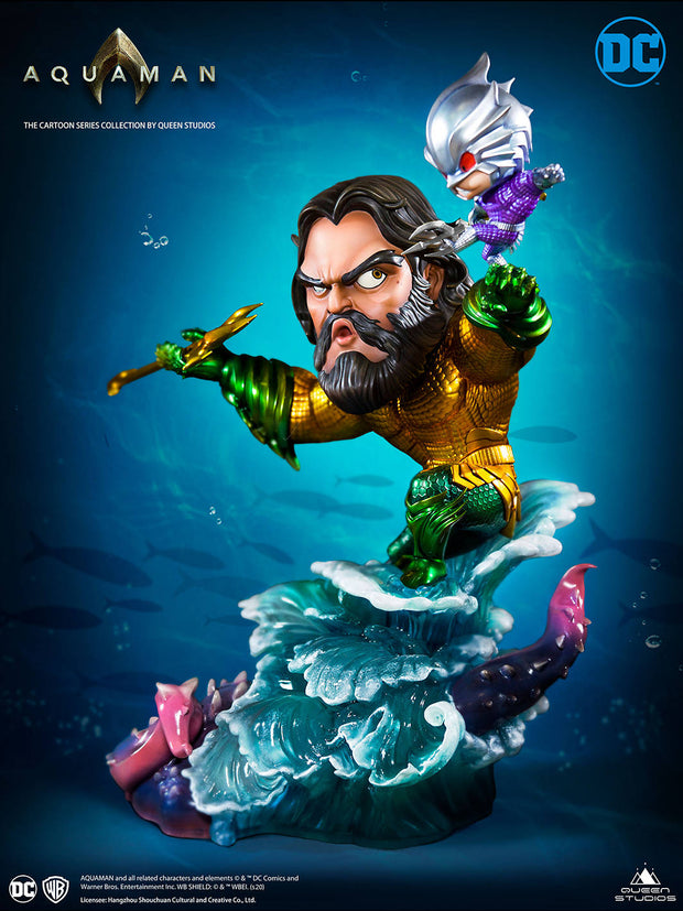 Aquaman Cartoon Collectible Statue