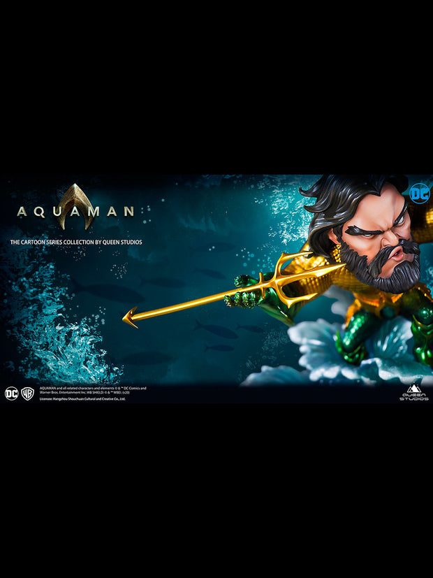 Cartoon Series Aquaman Statue