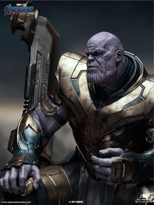 Avengers Endgame Collectible Thanos Statue
