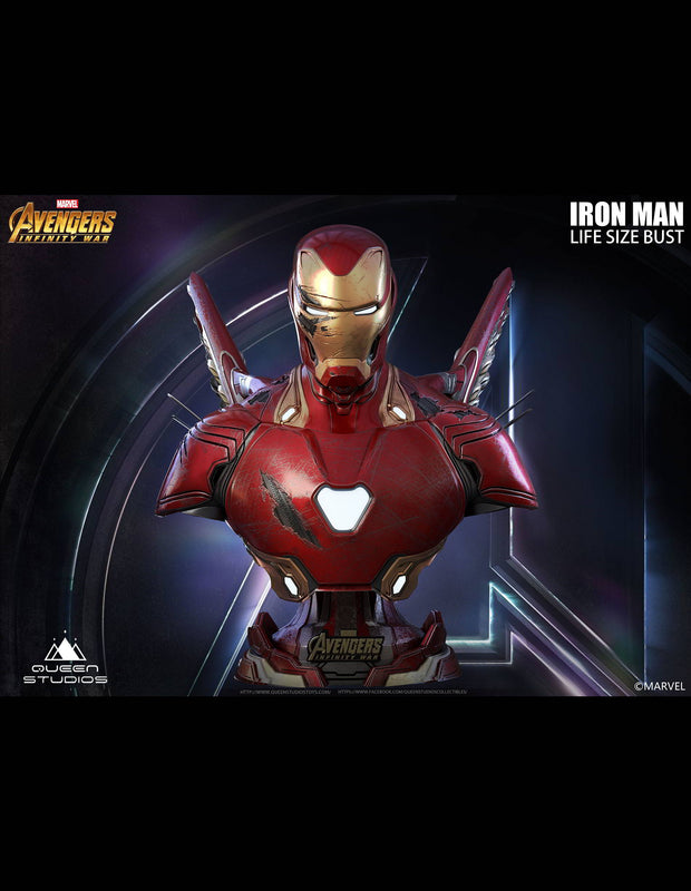Battle Damaged Iron Man Mark 50 by Queen Studios